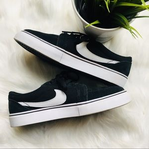 NIKE SB SATIRE II Black Skater Shoes Sneakers 4